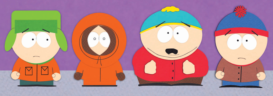 ... South Park 's Stan, Kenny, Cartman and Kyle don't just lack