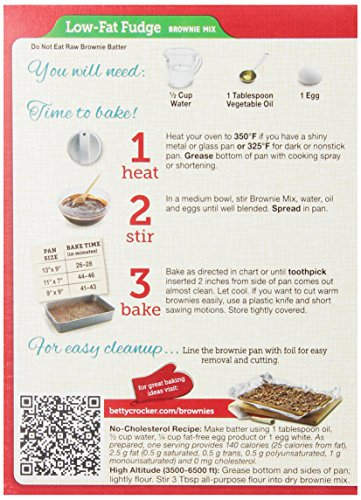 Betty crocker cake mix no cholesterol recipe