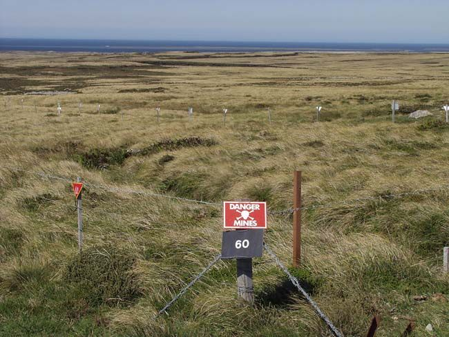 Falkland Islands - Minefield
