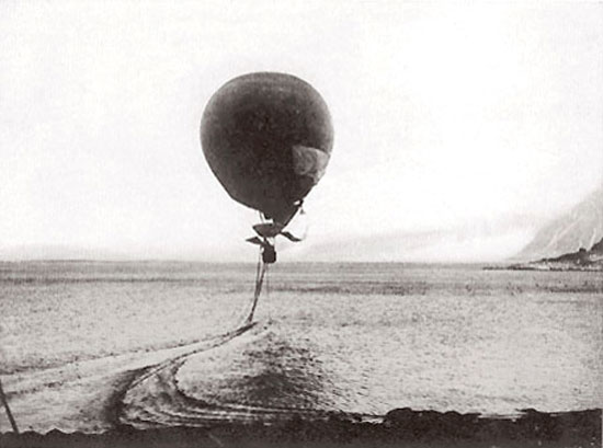 dragging-balloon