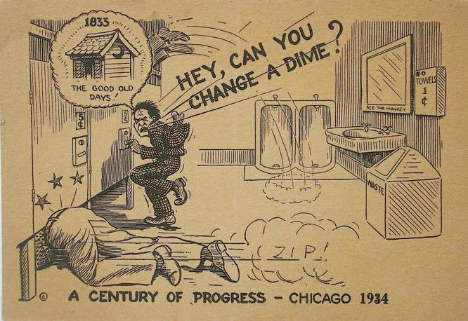 [postcard-chicago-arcade-card-century-of-progress-cartoon-about-pay-toilets-1934]