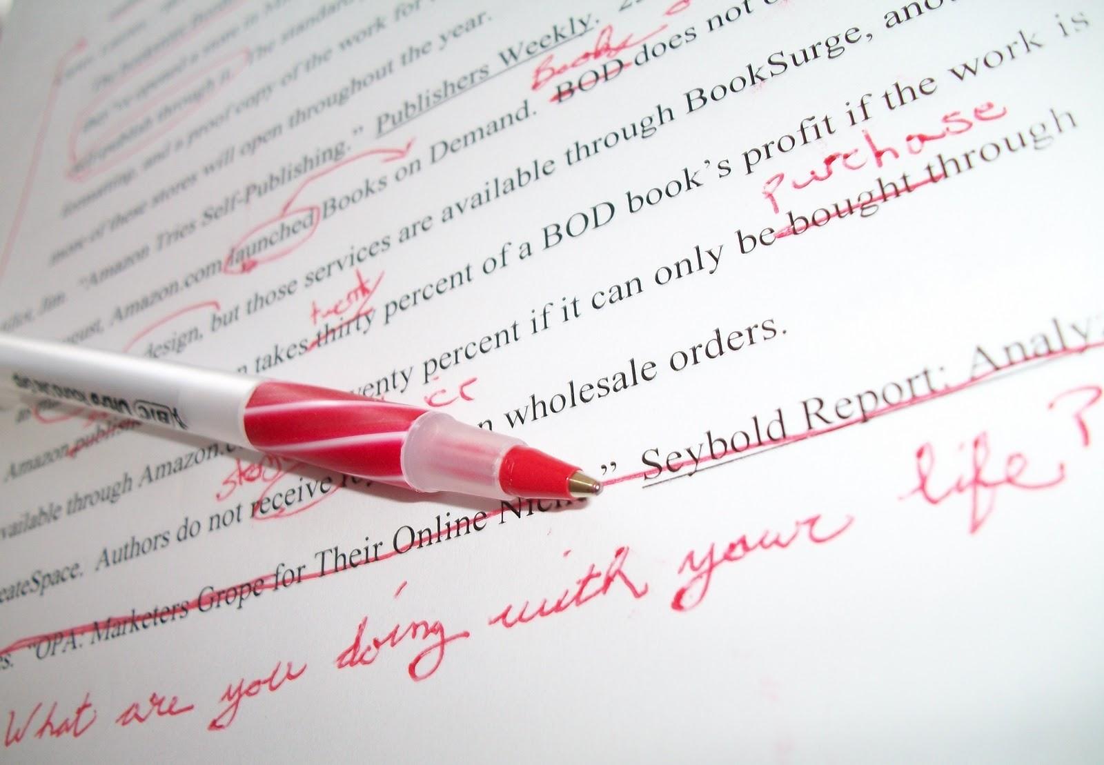 red-pen