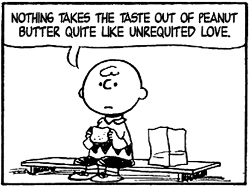 The broken heart drug now i know for Charlie brown zitate